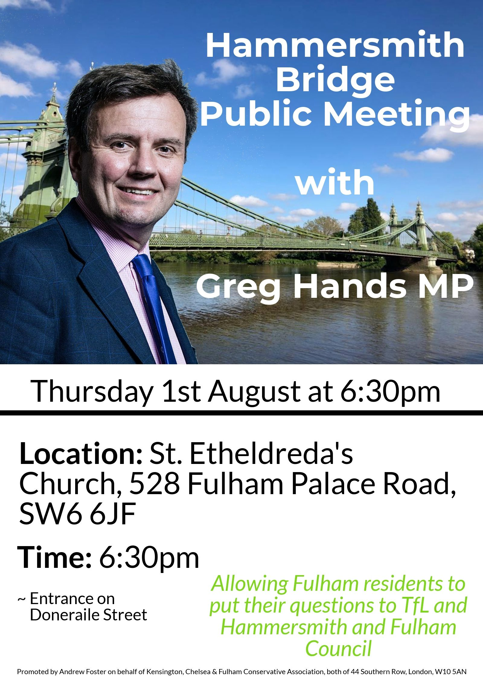 Hammersmith Bridge Public Meeting