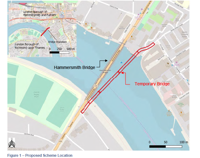 TfL Temporary Bridge Proposal
