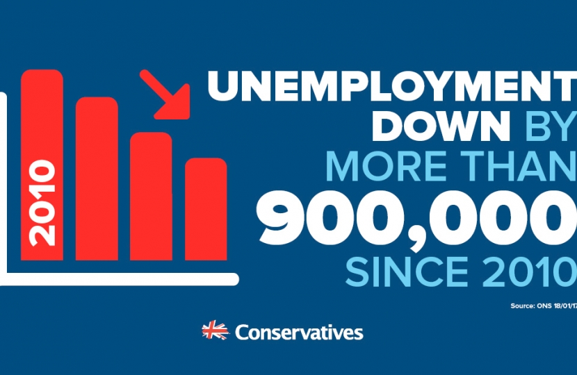 Greg Hands MP welcomes lowest unemployment in over 10 years