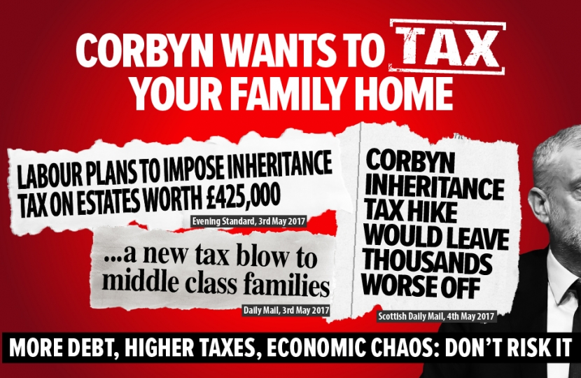Greg Hands criticises Labour's proposed Inheritance Tax Hike