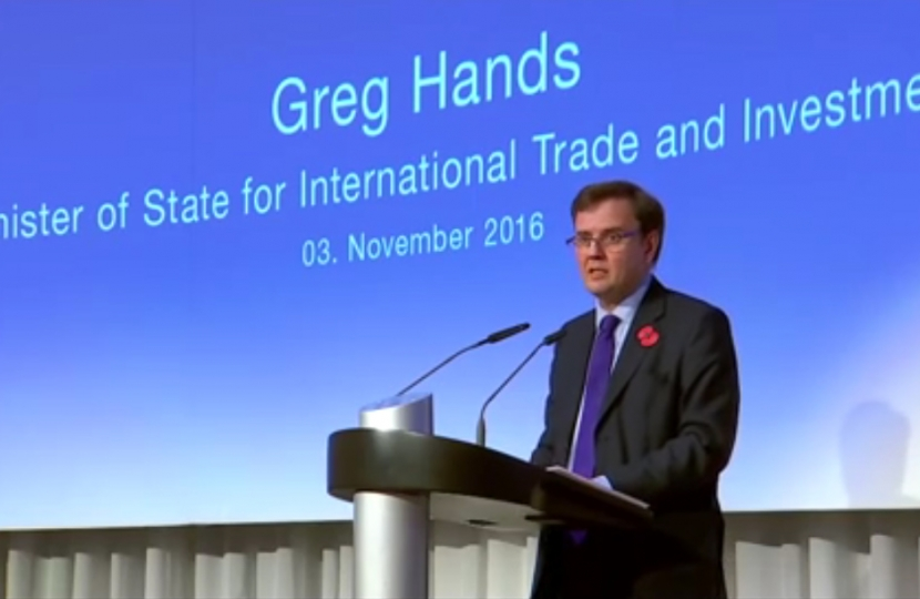 Greg Hands MP
