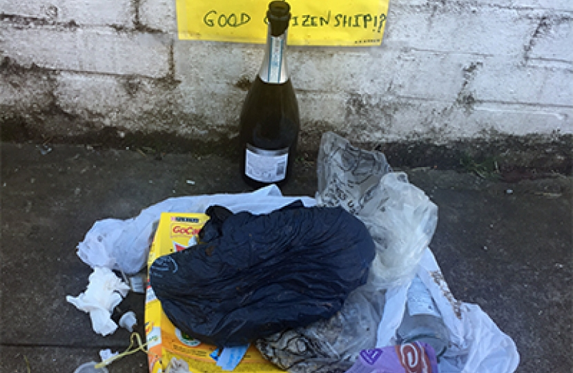 Hands launches campaign against fly-tipping in Hammersmith & Fulham