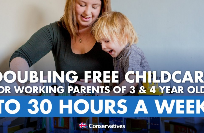 305 children in Hammersmith & Fulham and 211 in Kensington & Chelsea are now benefiting from 30 hours of free childcare
