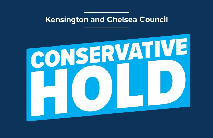 Conservatives win well in Kensington & Chelsea