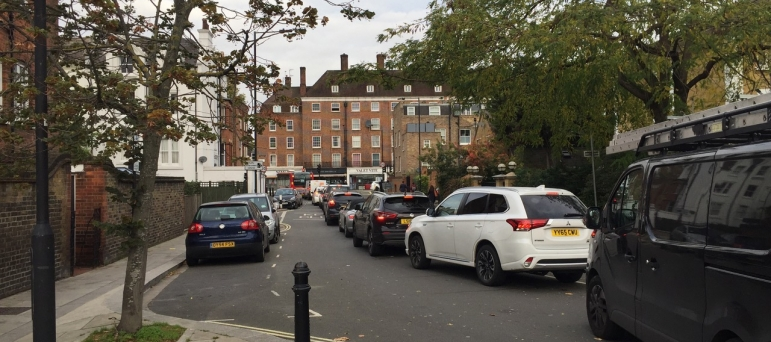 Harwood Terrace Traffic